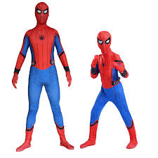 spider man spider man spiderman homecoming cosplay costumes