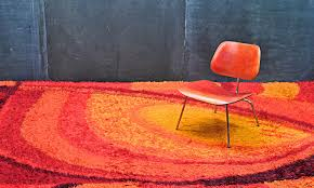 Pop Art Rugs Monumental Danish Mid Century Modern Pop Art Rya Rug