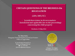 Council Regulation Ec No 44 2001 Brussels Certain Questions Of The Brussels Iia Regulation Ppt