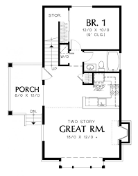 one cottage house plans best of one bedroom cottage house plans home plans design