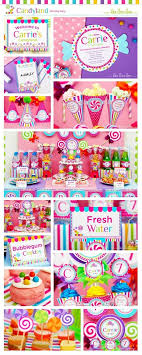 candyland birthday party ideas candyland birthday party package collection set mega by leelaaloo