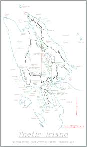 Blank Map Of Bc by Area Detail Maps Of Thetis Island Gulf Islands Pacific Northwest