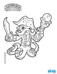 skylanders swap force wash buckler coloring pages cartoon