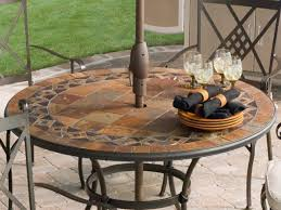 Round Patio Furniture by Patio 54 Round Patio Table Glass Top Round Patio Table Af0n