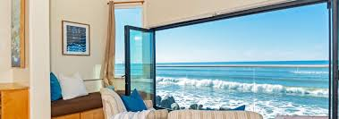 beachfront only vacation rentals california beach house rentals