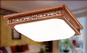 wood flush mount ceiling light asian chinese style flush mount ceiling light led mahogany finish