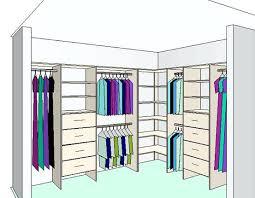 L Shaped Room Ideas L Shaped Closet Design Ideas Below Is An Example Of An U0027l