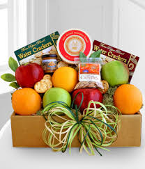 cheese baskets fruit and cheese box at from you flowers