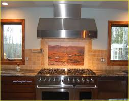 mural tiles for kitchen backsplash beautiful placement the mural