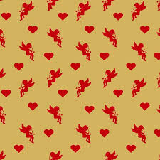 heart wrapping paper cupid and heart wrapping paper illustrations creative market