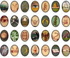 an interesting collection of masonic symbols sacralis