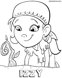 izzy the pirate coloring pages coloring pages to download and print