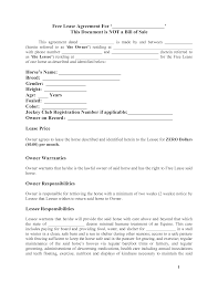 residential lease agreement template word free background doc