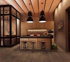 cuisine style loft industriel design interieur cuisine style industriel mobilier bois loft