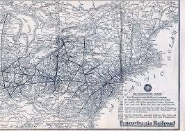 Train In Boston Map by 1930 U0027s Pennsylvania Maps
