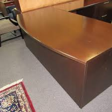 Knoll Reception Desk Knoll Bow Front Desk Plano Used Office Furniture