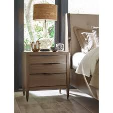 aiken three drawer nightstand with usb charger by american drew