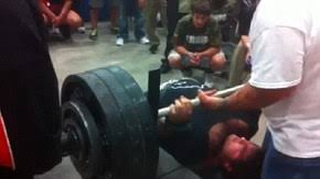 How Much Can Triple H Bench Press The Moment High Football Player Bench Pressed 700 Pounds