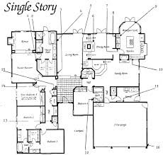 Single Storey Floor Plans Md Figure 1 Single Story Floor Plan