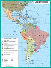 Latin America Map Countries by Latin America In The Late Xix Early Xx Century World History
