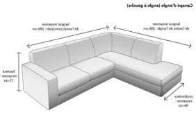 canapé d angle dimension dimension canapé d angle conception de dimension canapé d angle