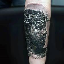 Forearm Tattoo Ideas For Men 50 Jesus Forearm Tattoo Designs For Men Christ Ink Ideas