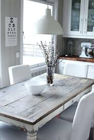 Rustic Wood Kitchen Tables - solid wood kitchen tables calgary rustic pine table and chairs