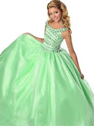 baoji girls u0027 pageant dresses dance party beaded floor length ball
