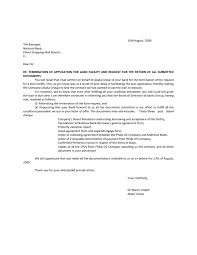 cover letter contract termination notice contract termination