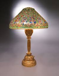 Japanese Desk Accessories by Tiffany Glass Continues To Make Lighting Magical