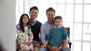 vern yip says husband kids are his support system