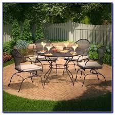 arlington house jackson oval patio dining table arlington house patio furniture stylish 5 piece wrought iron patio