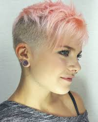 very short pixie hairstyle with saved sides bejause pixies haircuts and hair style