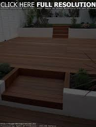 cool decking designs for small gardens on diy home interior ideas