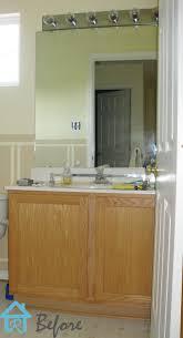 remodelando la casa builder u0027s grade vanity revamp