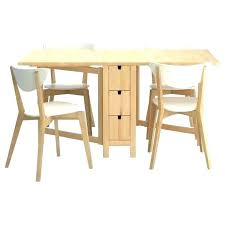 Folding Dining Table With Storage Folding Dining Table Ikea Leksvik Folding Dining Table