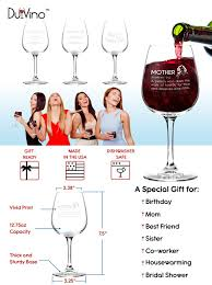 wine birthday meme amazon com mother definition funny mom wine glass 12 75 oz