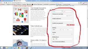Gmail Sign Up Sign Up For Gmail How To Create A Gmail Account Aviation