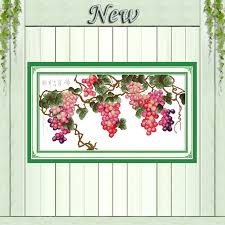 Grapes Home Decor Popular Grapes Home Decor Paintings Counted Buy Cheap Grapes Home