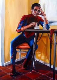 spiderman painting emily jones
