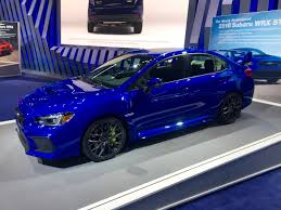hatchback subaru inside the 2018 subaru wrx sti is thankfully more of the same