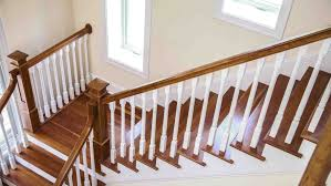 Banister Rails For Stairs How To Refinish Indoor Stair Railings Angie U0027s List