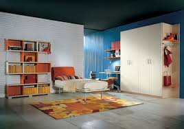 Orange And White Bedroom Superb Enticing Colourful Children Room Ideas By Sergi Ideas