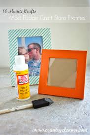 10 minutes crafts customize your craft store frames country