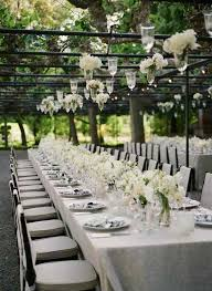 Wedding In My Backyard Outdoor Weddings Backyard Hanging Flower Arrangements And