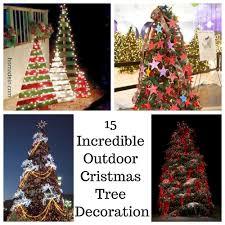 15 outdoor tree decorations homadein