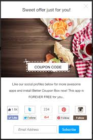 code promo cuisin store how coupon pop ups can grow your email list and get your