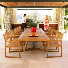 Modern Teak Outdoor Furniture by Modern Furniture Modern Patio Dining Furniture Large Limestone