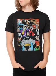spirit halloween batman shirt dc comics batman the animated series characters t shirt topic