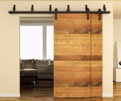 Sliding Barn Doors For Closets 5 To 10ft Soft Sliding Barn Wood Door Hardware Country Style